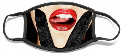 SOLD VX Red Lips Pink Tongue - SurXposed Face Mask